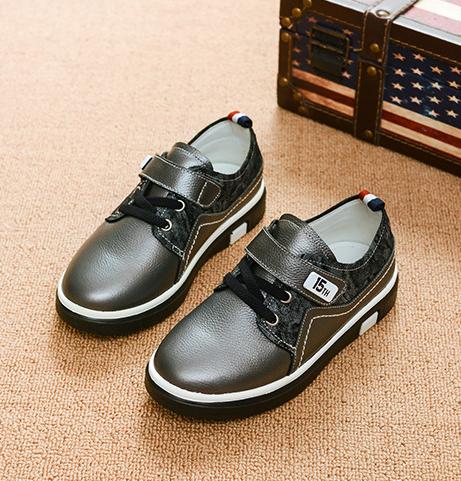 c574bdcffd0254 Шкіряні, стильні туфлі для хлопчиків, весна/осінь - Інтернет-магазин  дитячого та