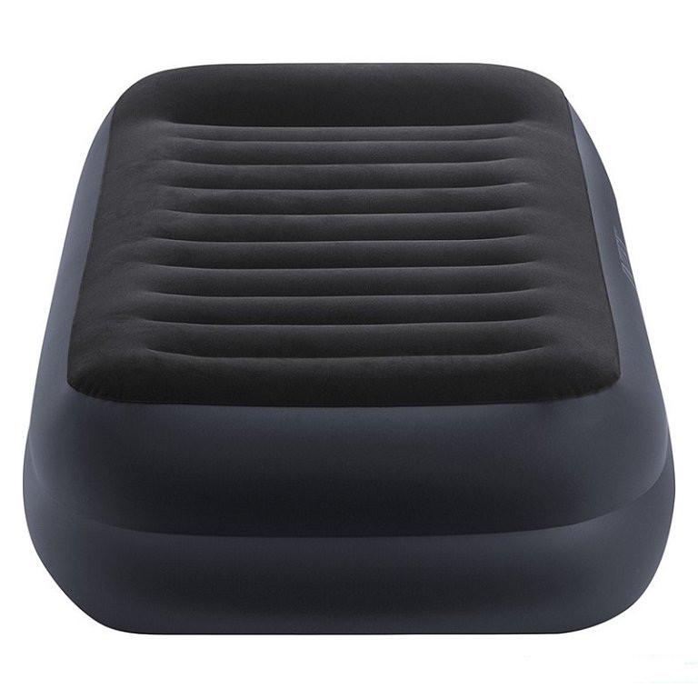 Велюровая надувная кровать Intex 64422 Ліжко