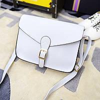 Женская сумочка маленькая через плечо белая опт, фото 1