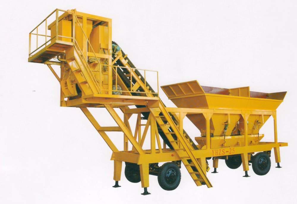Мини бетонные заводы HZS25, HZS35 Aimix