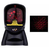 BP BP7220K Всенаправленный лазерный сканер штрих-кодов Чёрный