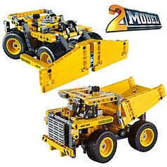 """Конструктор Decool 3363 (аналог Lego Technik 42035) """"Cамосвал Карьерный грузовик"""" 302 дет"""