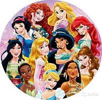 Вафельна картинка Принцеси Дісней