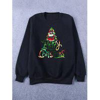Мужской свитшот с Рождественским принтом XL