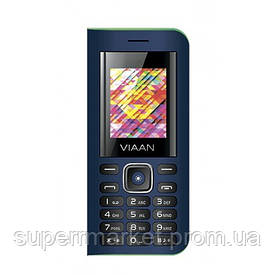 Телефон Viaan V11, 3sim, Power Bank 4000mAh, LED светильник, Blue