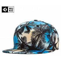 WuKe Кепка в стиле хип хоп с 3D рисунком кокосовой пальмы Разноцветный