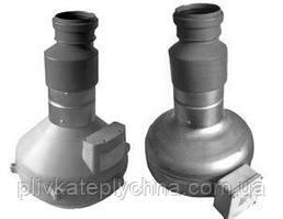 Вентилятор з клапаном для піддуву подвійної плівки у теплиці
