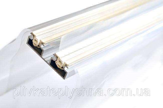Профіль алюмінієвий універсальний подвійний довжина 2,4м; ціна за метр погонний комплекту