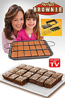 Форма для выпечки Perfect Brownie, противень Перфект Брауни  Форма для выпечки Perfect Brownie, противень Пер