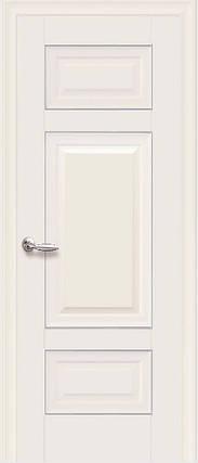 Дверне полотно Шарм Глухе з молдингом колір Магнолія, фото 2