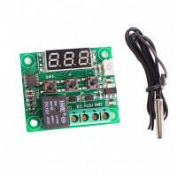 W1209 DC 12V Цифровой температурный термостат модуль управления Цветной