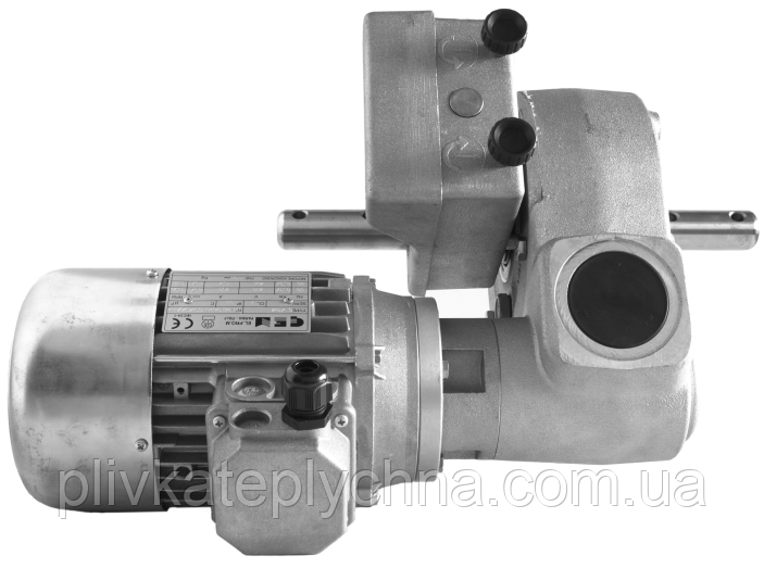 Двоступеневий червячний мотор-редуктор  DVF