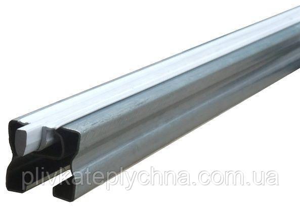 Профіль сталевий конструкційний 40x40мм (кріпить 2 - 4 шари плівки) довжина 6м; ціна за метр погонний комплект