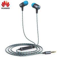 Оригинал Huawei AM12 Plus наушники-вкладыши с встроенным микрофоном наушники универсальные джек 3,5 мм Серый