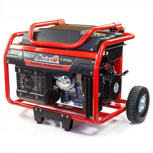 Генератор Matari S8990E (6.5 кВт). Subary