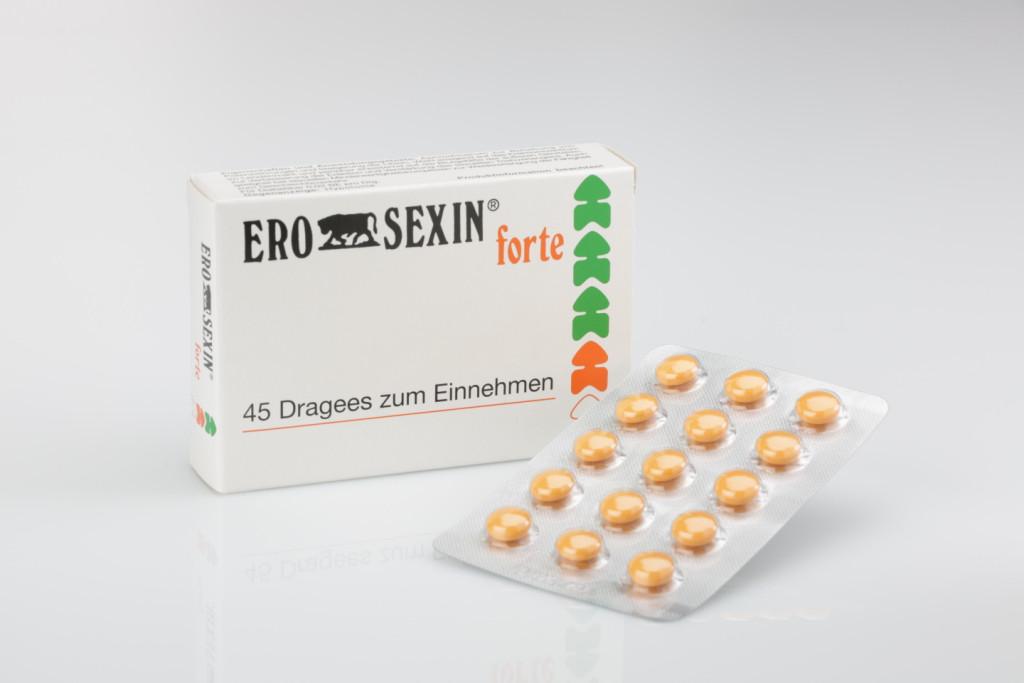 Таблетки ERO SEXIN forte 45 шт (для двоих)