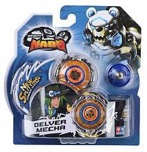 Волчок Auldey Infinity Nado Серия Стандарт - Deliver Mecha с устройством запуска, разноцветный YW624306