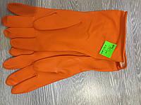 Перчатки кислото-щелочестойкие КЩС (латексные)
