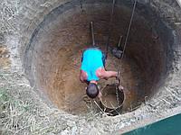 Выкопать септик с бетонных колец КС 15.9