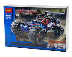 """Конструктор Decool 3411 (аналог Lego Technic 42010) """"Внедорожный гоночный автомобиль"""" 160 дет"""