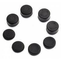 8шт Защитные Кнопки Колпачки для PS3 PS4 XBOX ONE XBOX 360 Чёрный