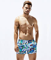 Мужские пляжные шорты Seobean - №2340