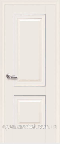 Дверное полотно Имидж Глухое с молдингом Магнолия