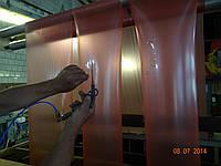 Размотка рукавной пленки с порезкой и закладкой  боковых закладок с намоткой в 3 потока, фото 1