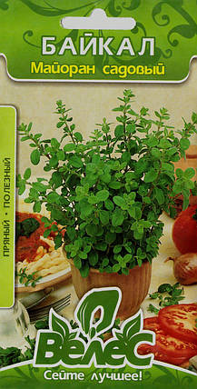 Семена майорана садового Байкал 0,3г ТМ ВЕЛЕС, фото 2