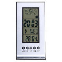 ТС-H129G метеостанции часы Серебристо-серый