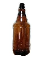 Бутылка ПЭТ граната коричневая 1 л.