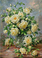 "Алмазная мозаика вышивка ""Букет роз"""