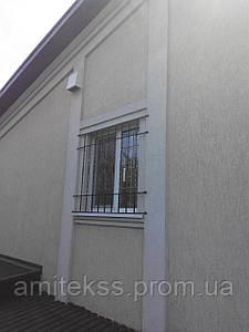 Решетка на окно c торсировкой (ковка, под заказ)