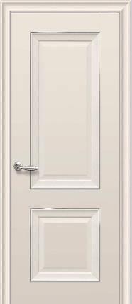 Дверное полотно Имидж Глухое с молдингом Капучино, фото 2