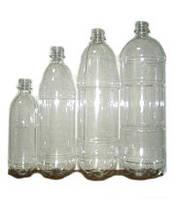 Бутылка ПЭТ росинка прозрачная 1 л.