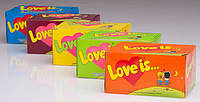Блок жвачек Love Is.... 4 вкуса