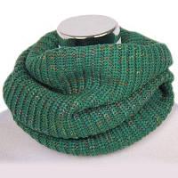 Женский шарф-снуд Зелёный