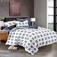 Евро комплект постельного белья 200*220 из сатина Айвенго