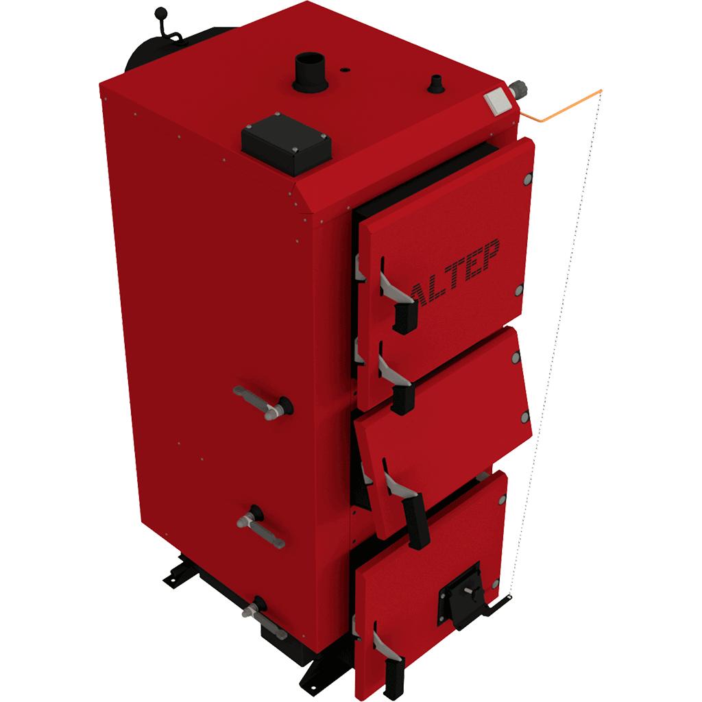Твердотопливный котел Altep DUO Механика (Альтеп КТ-2E) 17-38 кВт