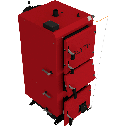 Твердотопливный котел Altep DUO Механика (Альтеп КТ-2E) 17-38 кВт, фото 2