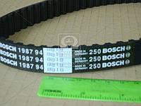 Ремень зубчатый ГРМ Volkswagen TRANSPORTER IV 2.4D Z=77 (производство Bosch) (арт. 1987948818), ABHZX