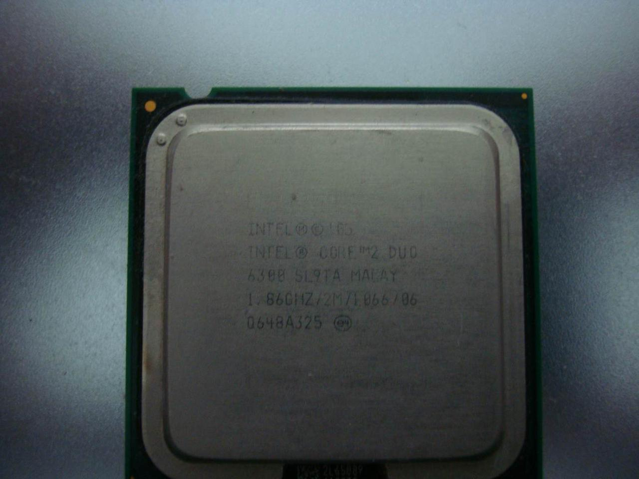 Двухъядерный процессор S775 Intel Core 2 Duo E6300 1.86GHZ