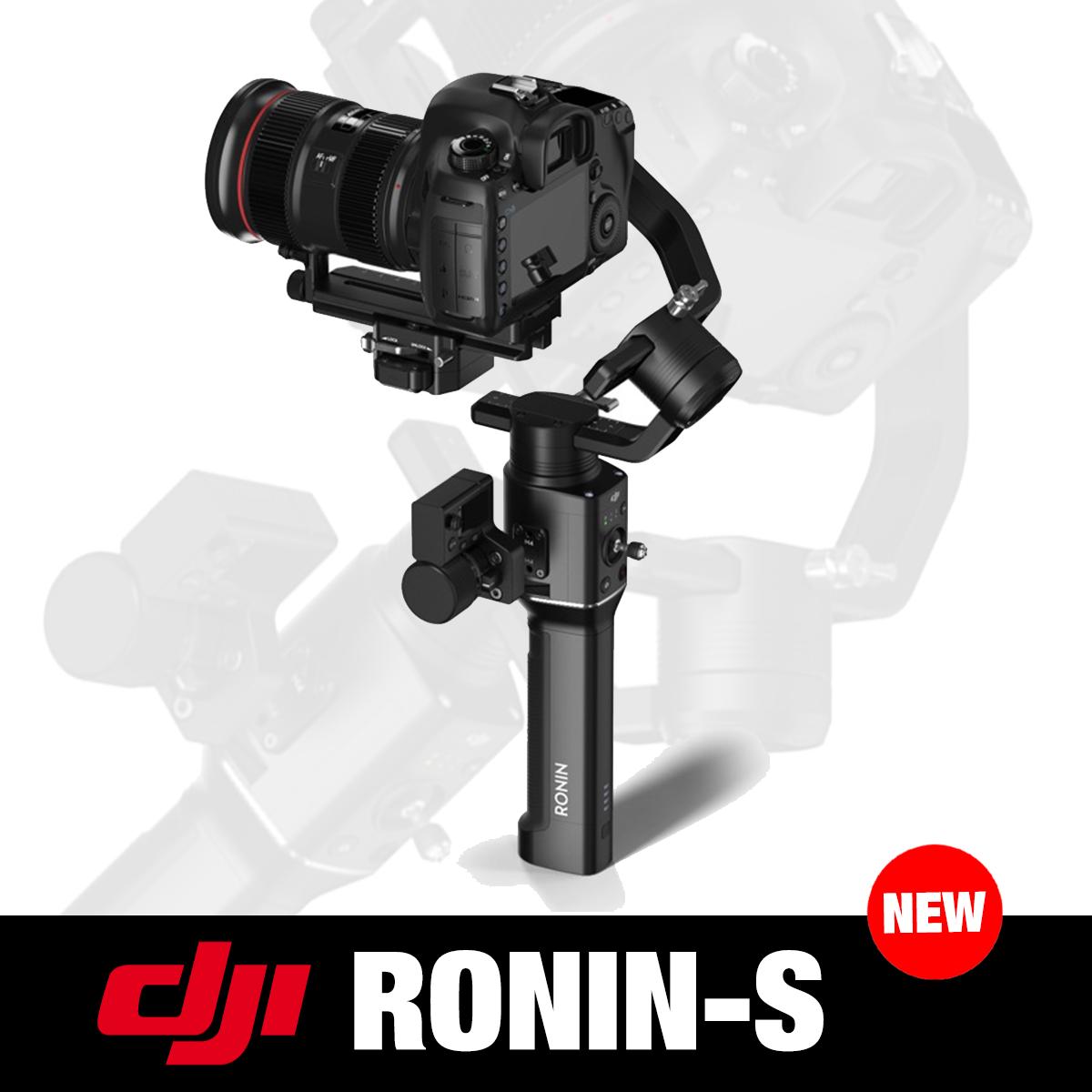 DJI Ronin-S  электронный стедикам для камер (DJRONINS) (CP.ZM.00000104.01)
