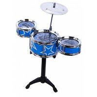 Джаз-Рок-Барабаны Игрушка Набор Музыкальных Инструментов Синий