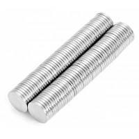 8 x 8 x 1 мм N52 мощный цилиндр NdFeB магнит для малыша DIY NND-41473