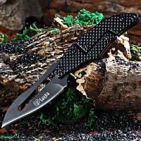 Складной нож SANJIA K8009 с механическим замком Чёрный