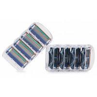8 универсальных сменных кассет для бритья Цветной