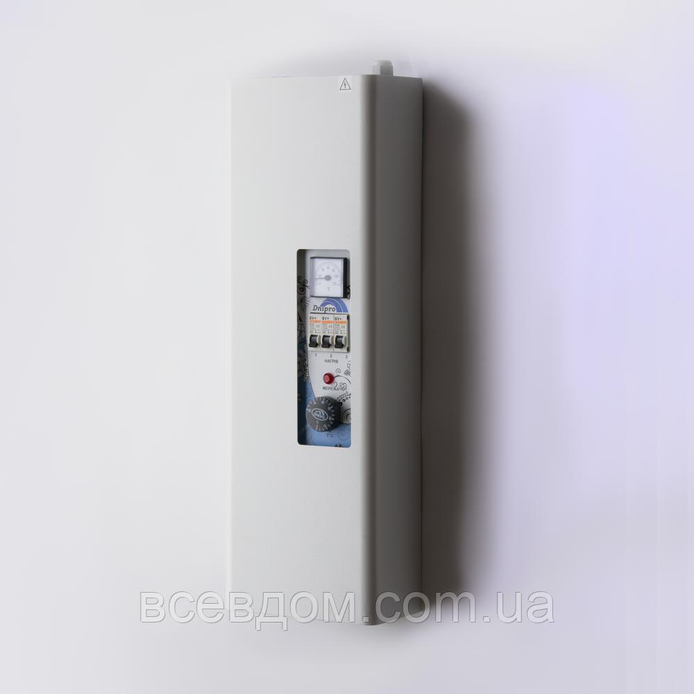 Котел электрический Днипро КЭО 12 кВт 380В без насоса