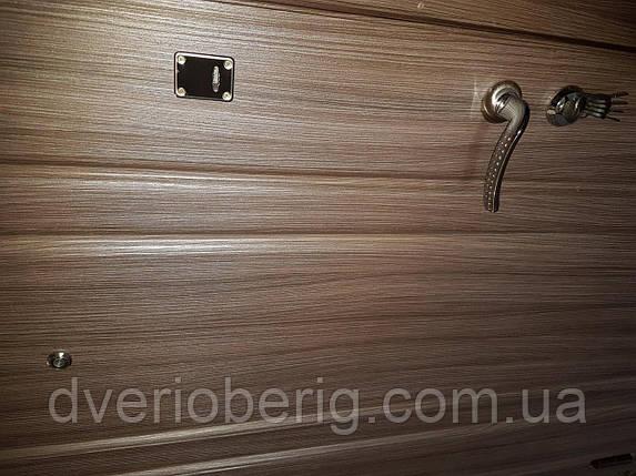 Входная дверь модель П3-221 лиственица темная, фото 2