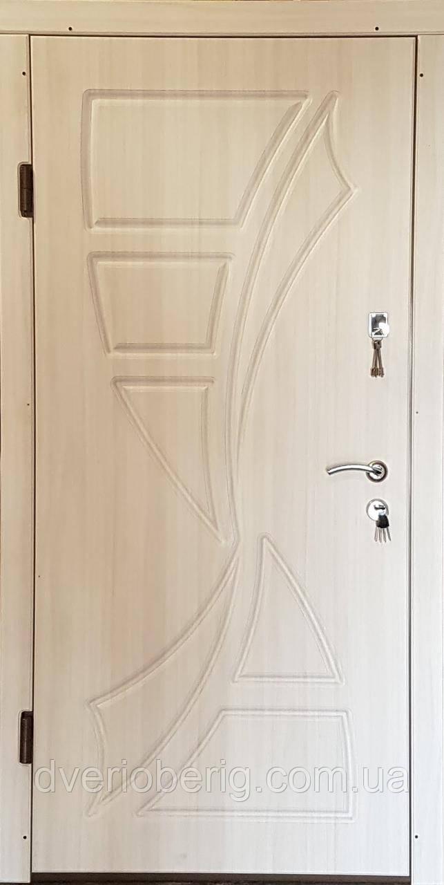 Входная дверь модель П3-287 вязь белый